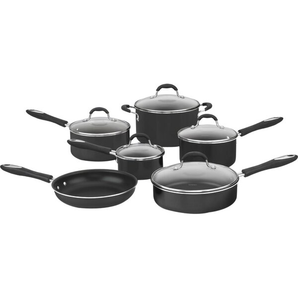 Advantage Nonstick 11 Piece Cookware Set By Cuisinart.