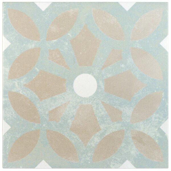 Anabella 9 x 9 Porcelain Field Tile in Louvre by Splashback Tile
