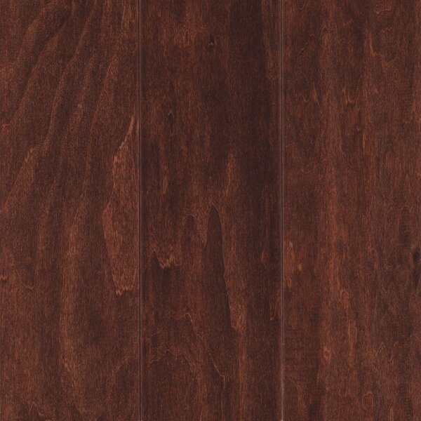 Agawam 5 Engineered Hardwood Flooring in Autumn Russet by Welles Hardwood