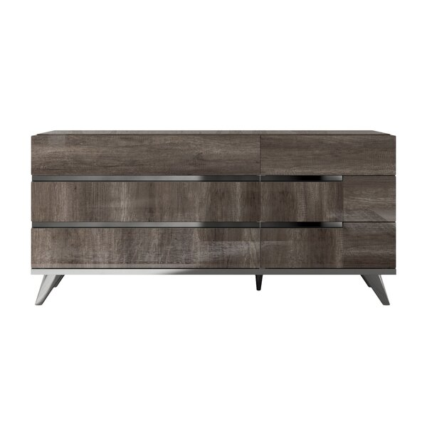 Carlyle 6 Drawer Dresser by Foundry Select