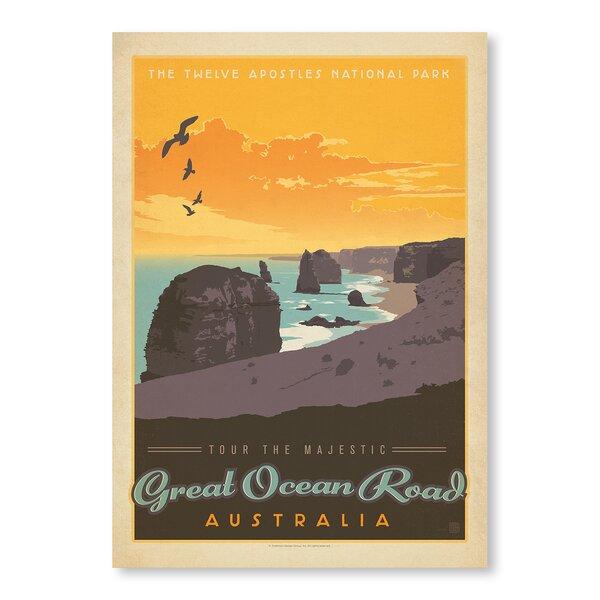 Great Ocean Road Vintage Advertisement by East Urban Home