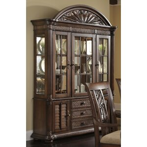 Watson Lighted China Cabinet by Bay Isle Home
