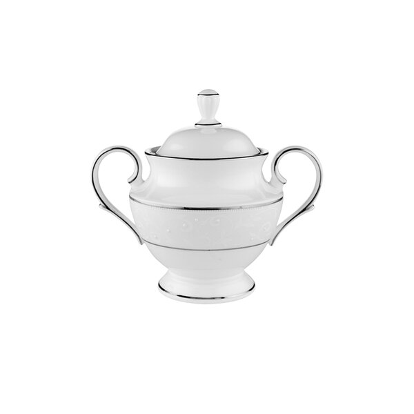 Opal Innocence Sugar Bowl with Lid by Lenox