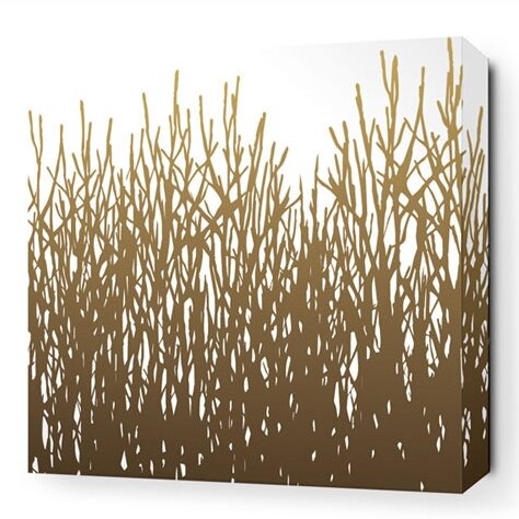 Farranshane Field Grass Stretched Graphic Art on W
