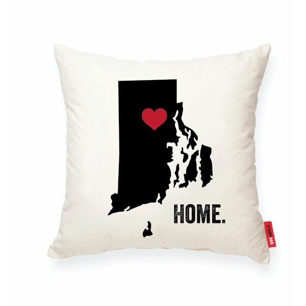 Pettry Rhode Island Cotton Throw Pillow by Wrought Studio