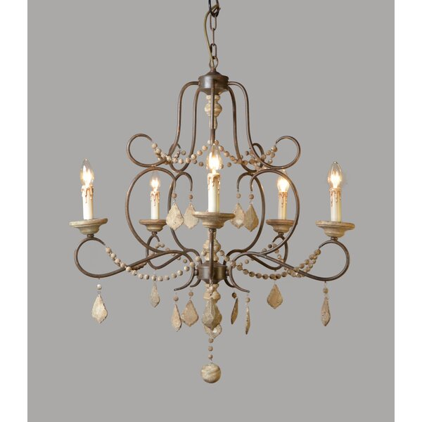 Ocilla 5-Light Chandelier by Ophelia & Co.