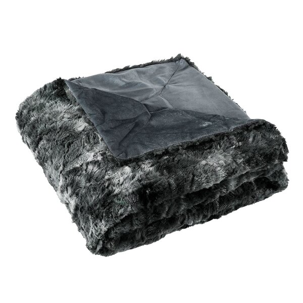 Patricia Luxury Faux Fur Throw by Mercer41