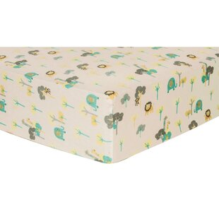 Compare Vice Deluxe Flannel Fitted Crib Sheet ByHarriet Bee