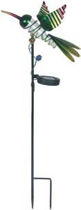 Haven Metal Hummingbird Solar LED Garden Stake by August Grove