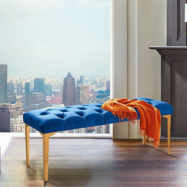 Hinkel Upholstered Bench by Mercer41
