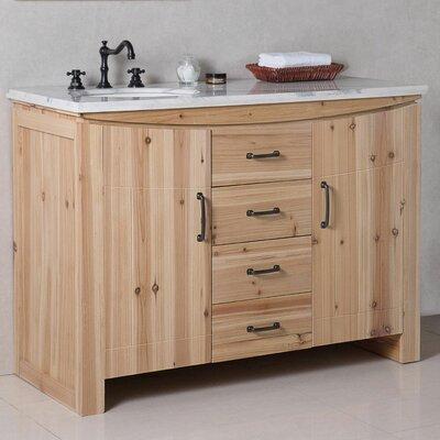 48 In Left Offset Sink Vanity | Wayfair