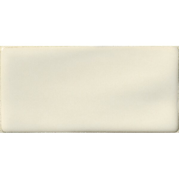 Handcrafted 3 x 6 Ceramic Subway Tile in Antique White by MSI