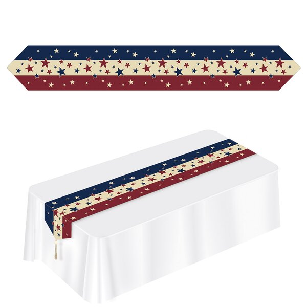 Fitzmaurice Americana Table Runner (Set of 3) by The Holiday Aisle