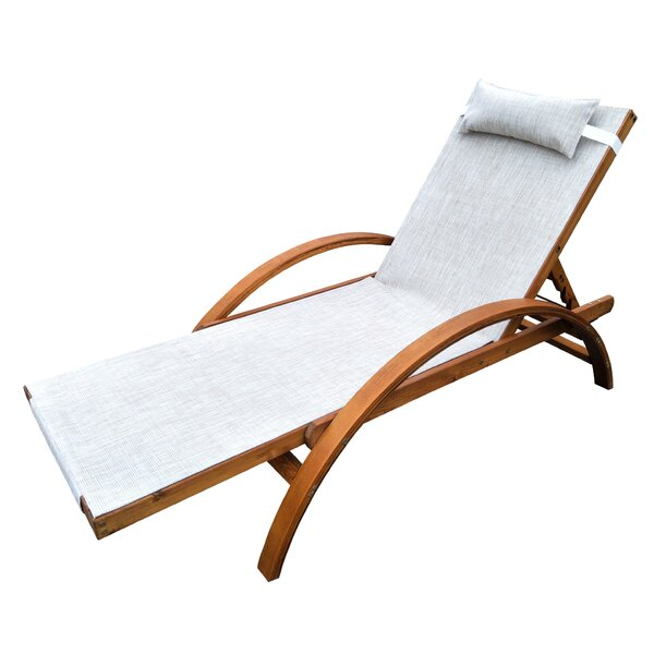 Reclining Lounge Chair by Leisure Season