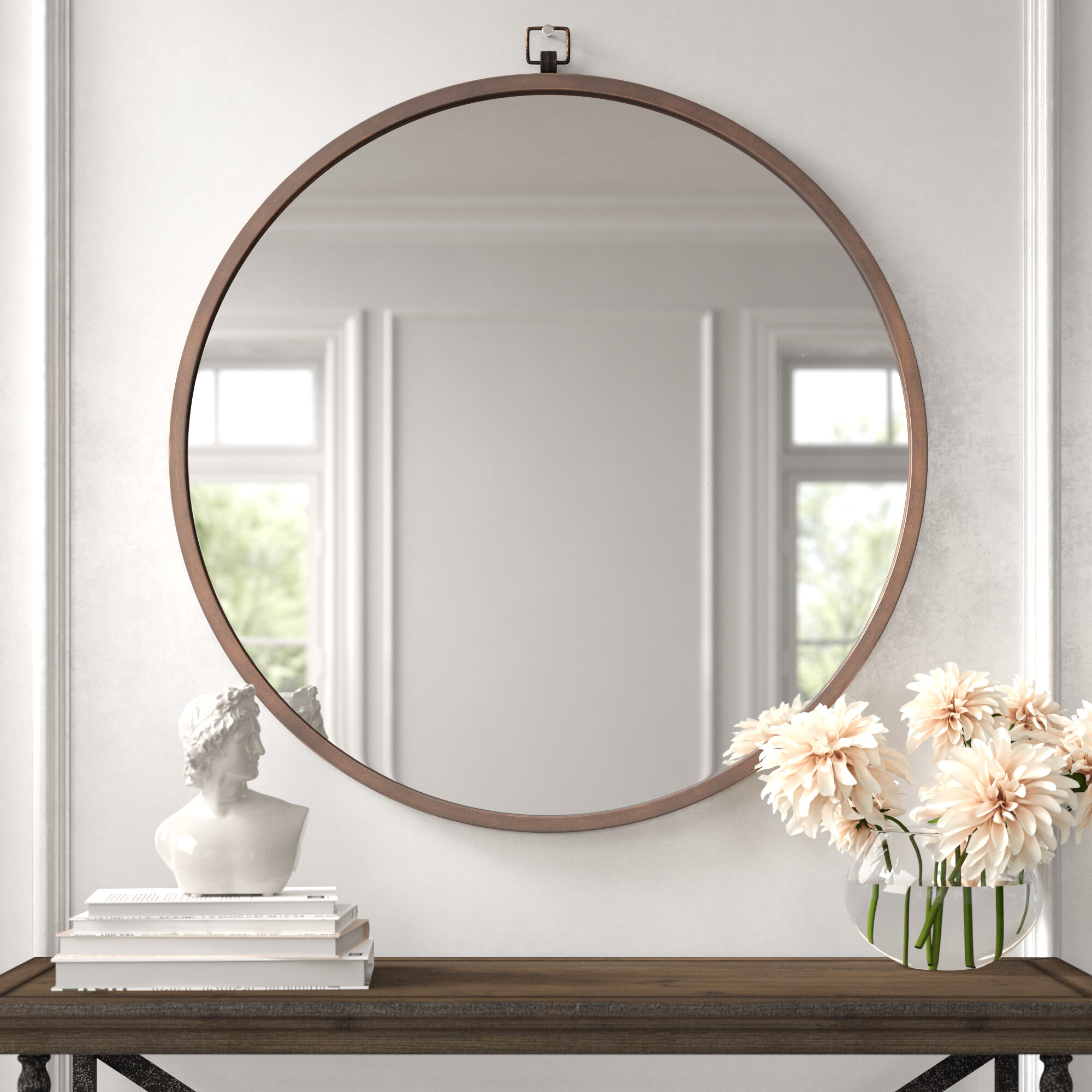 Modern Contemporary Wall Mirrors You Ll Love In 2020 Wayfair