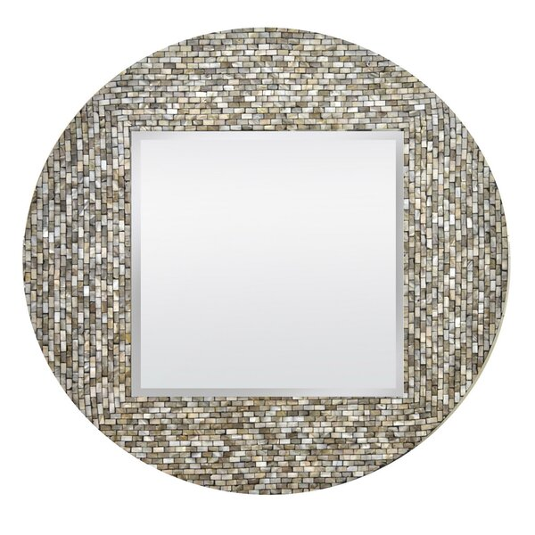 Brys Wood Accent Mirror by Highland Dunes