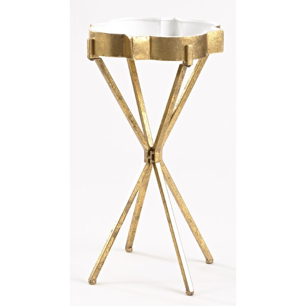 Quatrefoil Tray Table by InnerSpace Luxury Products
