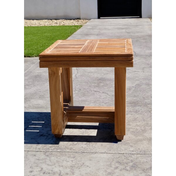 Crelake Teak Side Table by Foundry Select