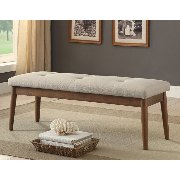 Yokley Upholstered Bench by George Oliver