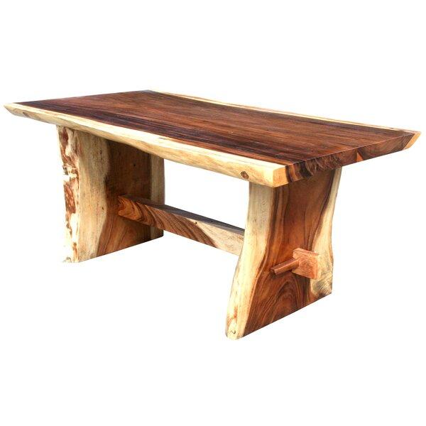 DeMontfort Solid Wood Dining Table by Loon Peak