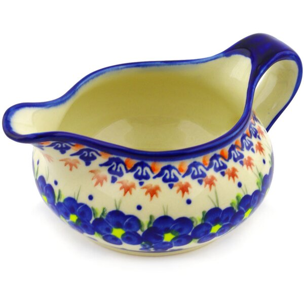 Polish Pottery 19 oz. Gravy Boat by Polmedia
