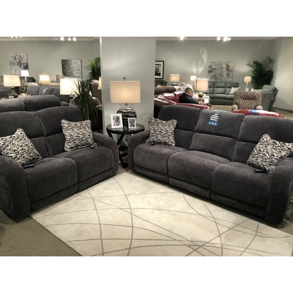 Fandango 2 Piece Reclining Living Room Set by Southern Motion