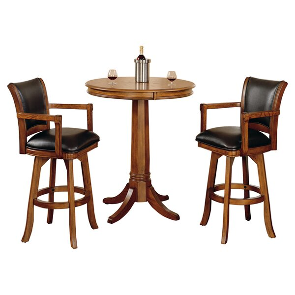 Coello 3 Piece Pub Table Set by Darby Home Co Darby Home Co