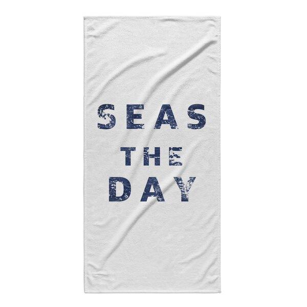 Lovitt Seas The Day Beach Towel by Longshore Tides