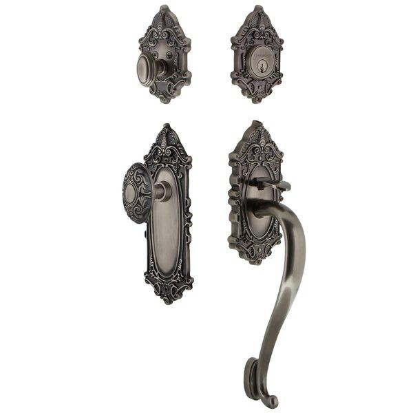 Grande Victorian S Grip Handleset with Knob by Grandeur