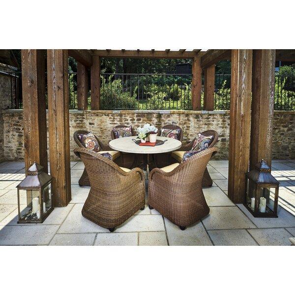 Wynwood 7 Piece Dining Set with Sunbrella Cushions by Peak Season Inc.