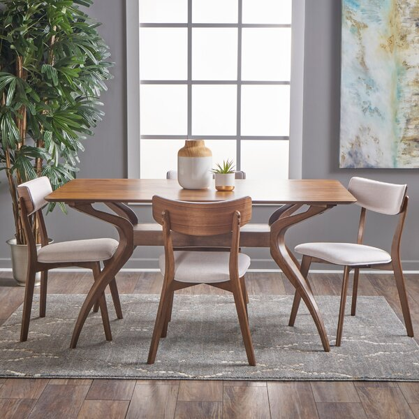 Taurean 5 Piece Dining Set by Corrigan Studio