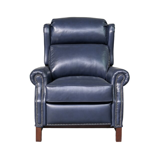 Means Leather Power Recliner by Canora Grey
