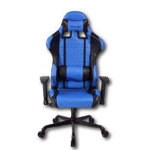 Cherita Racing Style High-Back Gaming Chair by Latitude Run