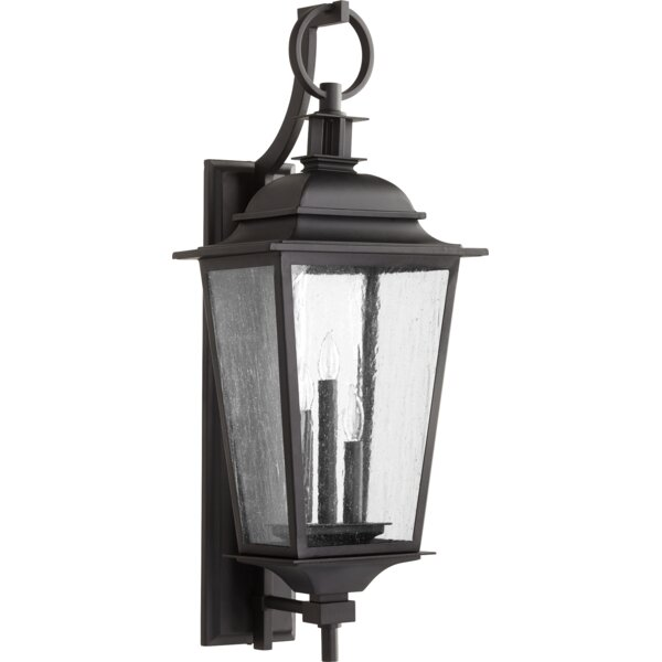Bridport 3-Light Outdoor Wall Lantern by Canora Grey