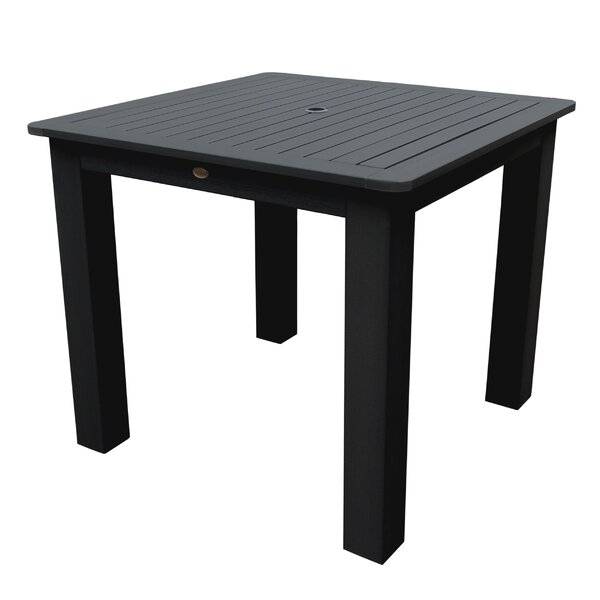 Thiago Plastic Dining Table by Darby Home Co