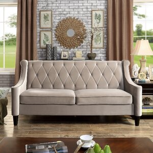 Buchanan Wingback Sofa by Willa Arlo Interiors