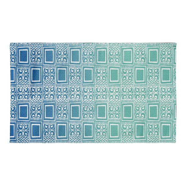 Townsend Blue Area Rug by Ivy Bronx