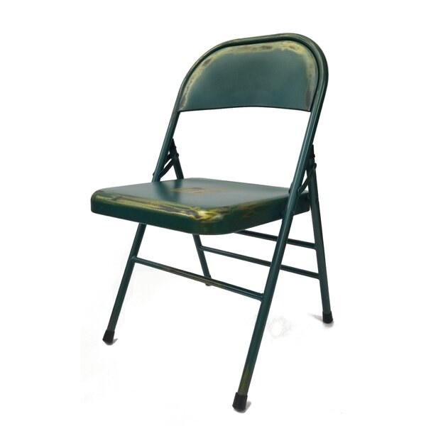 Metal Folding Chair by Fine Mod Imports
