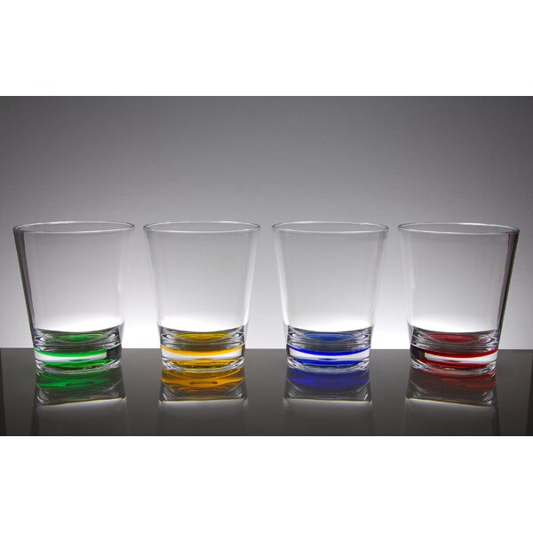 Funchess 8 Piece 16 oz. Plastic/Acrylic Every Day Glass Set by Ivy Bronx