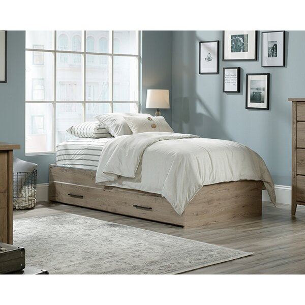 Neubauer Twin Mates & Captains Bed with 2 Drawers by Union Rustic