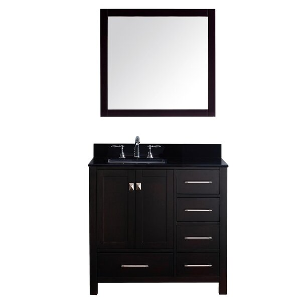 Raishon 37 Single Bathroom Vanity Set with Mirror by Willa Arlo Interiors