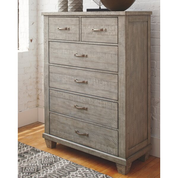 Brookins 6 Drawer Chest by Gracie Oaks