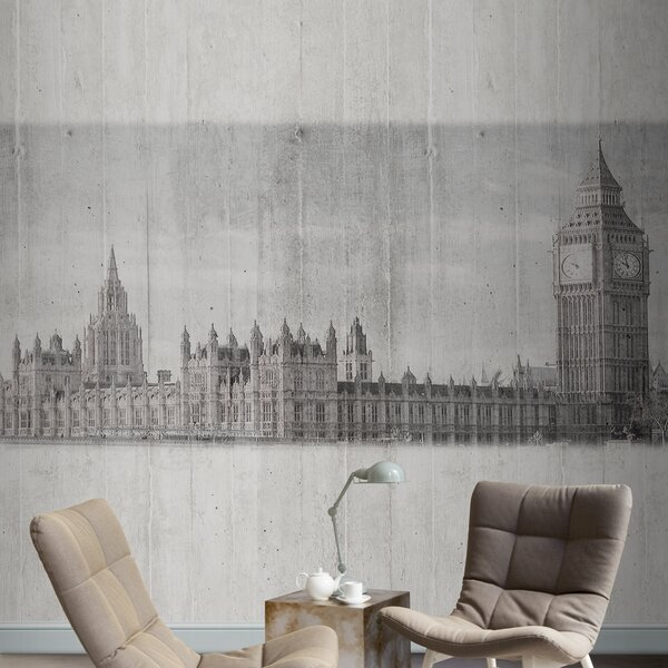 Journeys  London Scenic Wall Mural by Tres Tintas Barcelona