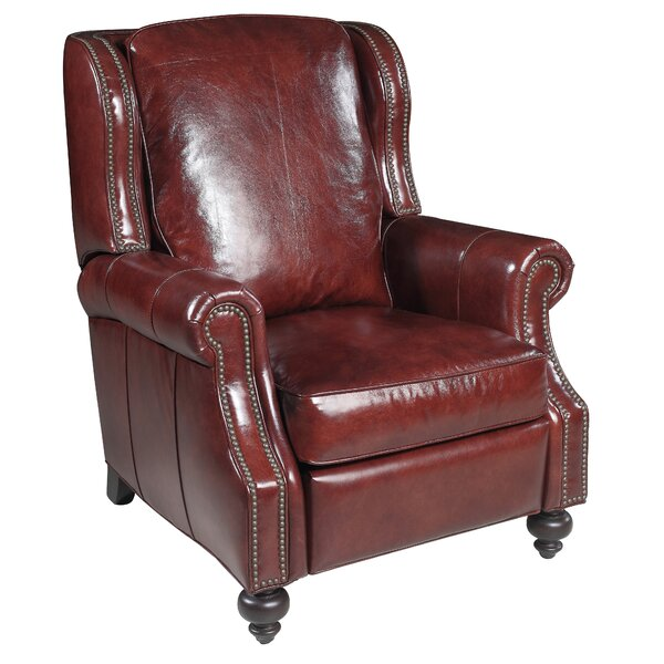Balmoral Cornwall Leather Recliner by Hooker Furniture