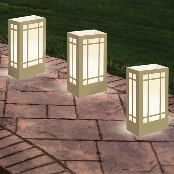 Gold Lantern Luminary (Set of 12) by Luminarias