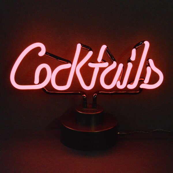 Business Signs Cocktails Neon Sign by Neonetics