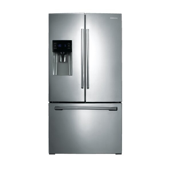 36 French Door 24.6 cu. ft. Refrigerator with External Water and Ice Dispenser