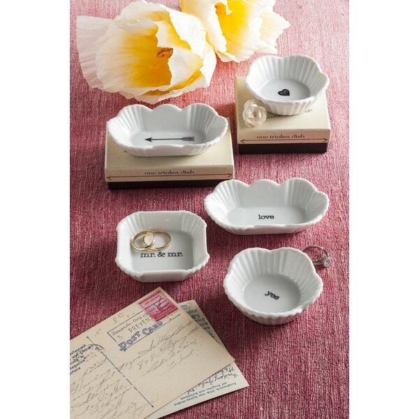 Love Porcelain Trinket Dish by Rosanna