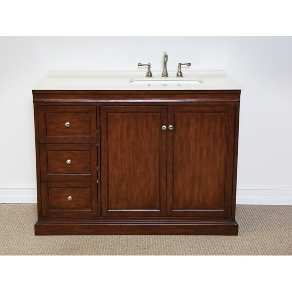Francesca 48 Single Bathroom Vanity Set by Charlton Home