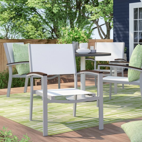 Caspian Patio Chair (Set of 4) by Sol 72 Outdoor